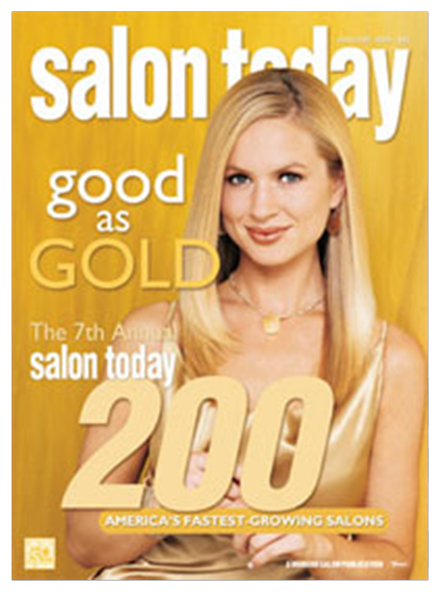 Best Hair Salon Pembroke Pines, Salon Today 200 January 2004 Magazine Cover