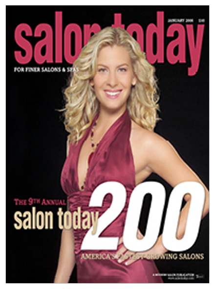 Best Hair Salon Pembroke Pines, Salon Today 200 January 2006 Magazine Cover