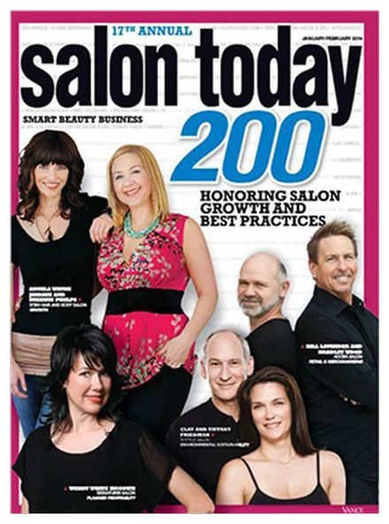 Best Hair Salon Pembroke Pines, Salon Today 200 January/February 2014 Magazine Cover