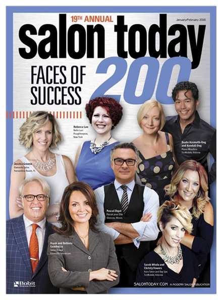 Best Hair Salon Pembroke Pines, Salon Today 200 January/February 2016 Magazine Cover