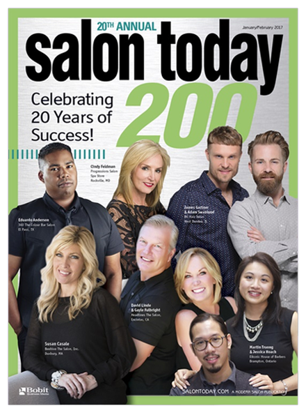 Best Hair Salon Pembroke Pines, Salon Today 200 January/February 2017 Magazine Cover