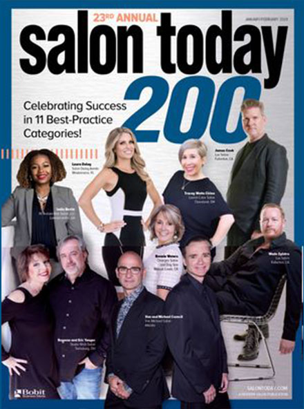 Best Hair Salon Pembroke Pines, Salon Today 200 January/February 2020 Magazine Cover